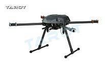 Tarot XS690 TL69A01 Sport Quadcopter with TL69A02 Metal Electric Retractable Landing Gear Skid TL8X002 Controller for FP