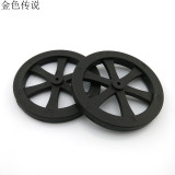 JMT 2 * 44mm Classic Wheel DIY Toy Wheel Model Small Wheel Plastic Wheel Accessories DIY Handmade RC Spare Parts