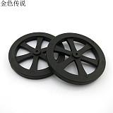 JMT 2 * 44mm Classic Wheel DIY Toy Wheel Model Small Wheel Plastic Wheel Accessories DIY Handmade RC Spare Parts