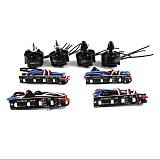 2pc CW+ 2pcs CCW 2204 2300KV Brushless Motor + 4x BLheli REV11.2 LED ESC for DIY 210 250 270 Quadcopter Mini Drone