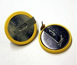 F05869 5pcs 2032 Coin Button Battery with Solder Pins 220Am 3V