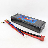 CNDHD Flying Series 2S 7.4V 30C 5000MAH Lipo Battery 5C Charging Li-Poly AKKU Power for RC 1/10 1/8 Car Toy