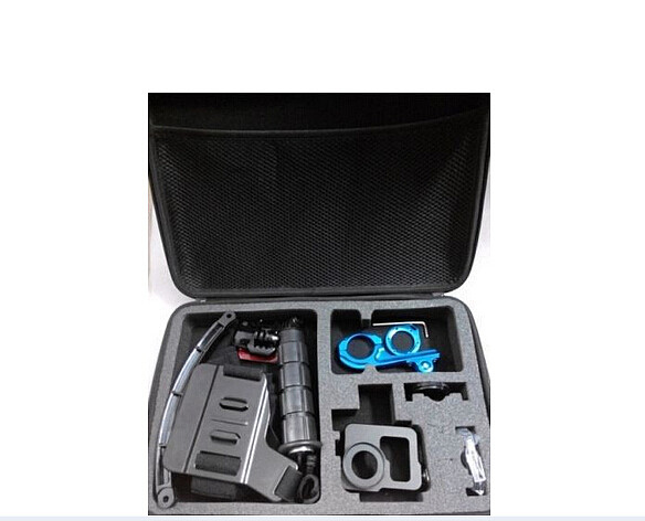 F07568-C Large Storage Bag kit/Handheld Monopod/Extention Kit/Chest Belt for Gopro Camera