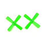 10 pairs 2035 2 inch Propeller 50mm CW CCW Paddle 1.5mm shaft hole Nylon 4-blade Props For DIY FPV Racing Drone Quadcopt