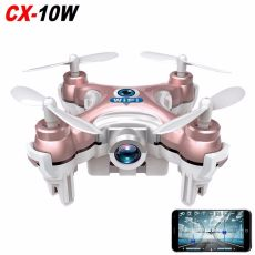 RC Quadcopter Cheerson CX-10W CX10W Wifi FPV 0.3MP Camera LED 3D Flip 4CH CX10 Update Version Mini Drone BNF Helicopter