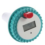 Generic Professional Wireless Digital Swimming Pool SPA Floating Thermometer Digital LCD Color White