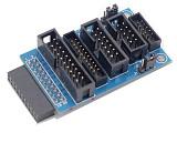 F05192 Adapter board Plate Compatible For JLINK V7 jlink V8 mini2440 2440 44B0 6410