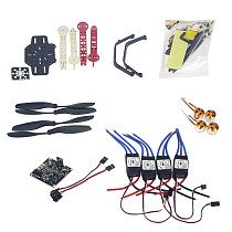 RC Drone Quadrocopter 4-axis Aircraft Kit F330 MultiCopter Frame KK XCOPTER V2.9 Flight Control No Transmitter No Batter