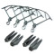 Spare Parts For DJI Mavic Pro 8330F Foldable Propellers + Props Guard  for DJI Mavic Pro