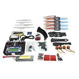 Full Set DIY RC Drone Quadrocopter X4M380L Frame Kit QQ Super TX Gimbal F14893-O