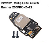 Walkera Transmitter TX5835 CE OSD Included Runner 250PRO-Z-22 for Walkera Runner 250 PRO GPS Racer Drone RC Quadcopter
