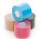 1 Roll 5m*3.8cm Cotton Elastic Adhesive Tape Muscle Sports Safety Treatment Bandage