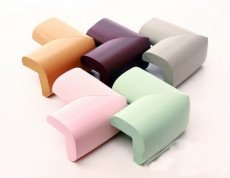 5Pcs Baby Safety L Shaped Kids Table Desk Anti-collision Corner Guard Children Safety Edge Guards Protector Mix Color