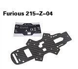 Walkera Furious 215-Z-04 Bottom Plate Carbon Fiber Board for Walkera Furious 215 FPV Racing Drone Quadcopter Aircraft