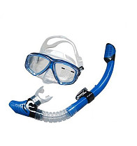 S00027 1set Adult Swiming Snorkeling Diving Equipment Scuba Driving Mask Goggles + Dry Breathing Tube Set