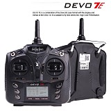 Walkera DEVO 7E 2.4G 7CH DSSS Radio Control Transmitter for RC Helicopter Airplane Model 2 Mode 1 No Receiver