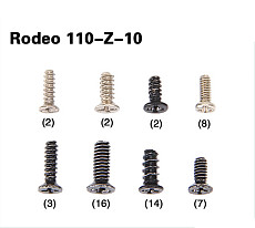 Walkera Rodeo 110 FPV Racing Drone Replacement Rodeo 110-Z-10 Screw Bag