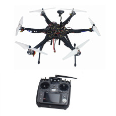 Assembled Full Set Drone RTF HMF S550 Frame GPS APM2.8 Flight Control with Compass AT10 TX/RX No Battery