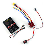 Hobbywing QuicRun WP Crawler Whaterproof Brushed ESC Build-in BEC 2-3S Lipo With LED Programing Card for 1/10 1/8 RC Car