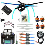 RC Drone Quadrocopter 4-axis Aircraft Kit 500mm Multi-Rotor Frame 6M GPS APM2.8 Flight Control Flysky FS-i6 Transmitter