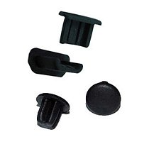 100X Silica gel Dustproof Dust plug For Data mouth Plug Earphone hole Headphone for micro USB port Mobile Phone