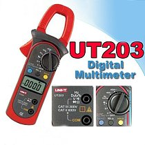 Youlide UT203 Digital Clamp Multimeter / Clamp Meter can measure AC and DC current F03906