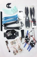 F08151-D 500mm Multi-Rotor Air Frame Kit S500 w/ Landing Gear +QQ SUPER Control Board+ Motor+Propellers
