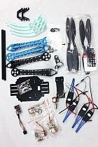 F08151-D 500mm Multi-Rotor Air Frame Kit S500 w/ Landing Gear +QQ SUPER Control Board+ Motor+Propellers