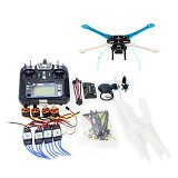 DIY GPS Drone Multi-Rotor Frame Kit S500-PCB APM2.8 Flysky 2.4G FS-i6 Transmitter Motor ESC NO Battery Charger