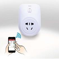 F08962 WiFi 2G/3G/4G Wireless APP Control Smart Socket Power Switch US/EU/UK Plug AC100V-250V