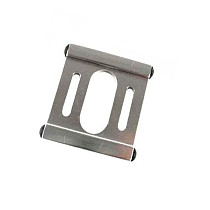 Lowest Price 500 Spare Parts Metal Motor Mount as H50042 TL50042 Silver Color for Trex 500 RC Helicopter Heli