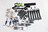 HMF S550 F550 Upgrade Hexacopter 6-Axis Frame Kit +ESC+Motor+KK V2.9 Board +Propellers