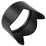 Petal Shaped Sun Shade Lens Hood Protective Cover for DJI Phantom 3 - Black