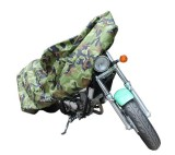 F19823 Camouflage Color XL Size Waterproof UV Resistant Dust Prevention Motorcycle Cover 231x95x125cm FreePost