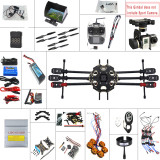 JMT 2.4G 9CH 680PRO PX4 GPS 5.8G Video FPV RC Hexacopter Unassembled Full Kit RTF DIY RC Drone Combo MINI3D Pro Gimbal