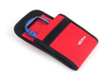 NEOpine GN-2 Colorful Stretchy Neoprene Collapsible Storage Case Waterproof For Gopro 4 3 Camera Red