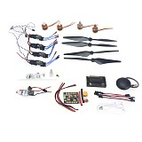 30A ESC BEC 920KV Brushless Motor Carbon Firber Propeller GPS APM2.8 Flight Control for 4-axis DIY GPS Drone