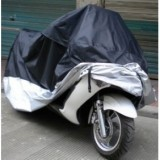 Motorcycle Covering Waterproof Dustproof Scooter Cover UV Resistant Heavy Racing Bike Cover XXXL 265cm*115cm*125cm