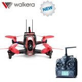 Walkera Rodeo 110 110mm with DEVO 7 Remote Controller RC Racing Drone Quadcopter RTF With 600TVL Camera Battery Charger