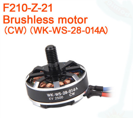 Walkera F210 RC Helicopter Quadcopter spare parts Brushless motor 250PRO F210-Z-21 CW / F210-Z-22 CCW