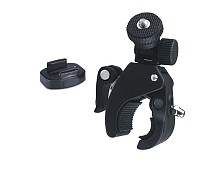 F06907-F Fast Clip Release Motor Bike Roll Bar Handbar Tripod Mount + Quick Release Buckle Connector Adapter