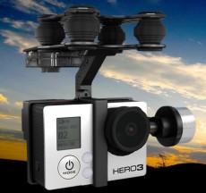 F08810 Walkera G-2D Brushless Gimbal PTZ for iLook / GoPro Hero 3 Black on FPV Quadcopter xt-xinte