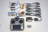 F02015-I 4Axis Foldable Rack RC Helicopter Kit APM2.8 Flight Control Board+GPS+1000KV Motor+10x4.7 Propeller+30A ESC+AT1