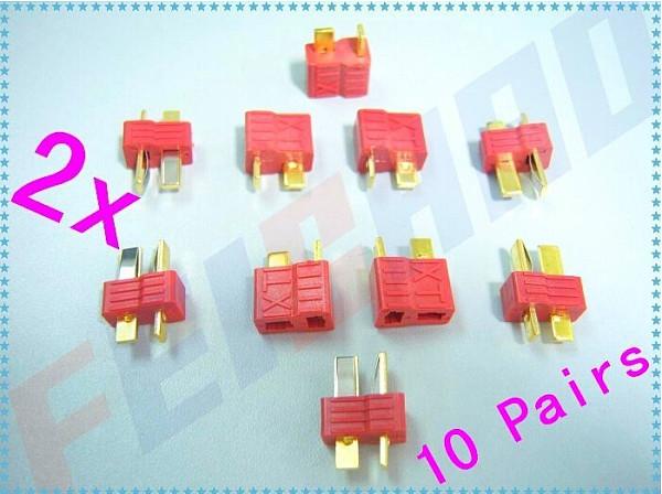 10 Pairs Dean Connector XT plug T plug For ESC Battery