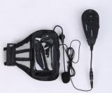 Vnetphone V5C 1200m Full-duplex intercom Hand-free Stereo Interphone Bluetooth Walkie-Talkie with FM for Referee 5 Users