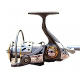 S01168 Diaodelai DK3000 12+1 Series Cnc Metal Bearing Folding Rocker Fishing Rod Round Spinning Reel Fishing Reel