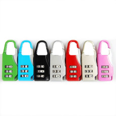 1pc Mini 3 Digit Combination Password Padlock Travel Luggage Cases Boxes Mailboxes Suitcase Code Lock Safety Security