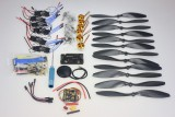 F02015-G 6 Axis Foldable Rack RC Quadcopter Kit APM2.8 Flight Control Board+GPS+1000KV Brushless Motor+10x4.7 Propeller+