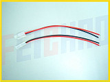 18AWG white Tamiya plugs 20CM long silicone cable / 1 pair of dress