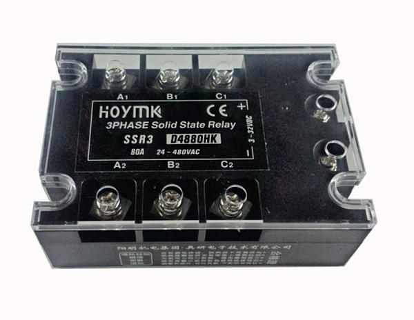 Hoymk SSR3-D4880HK 80A DC-AC SSR3 D4880HK 3 Phase Solid State Relay